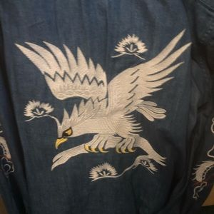 Embroidered western shirts